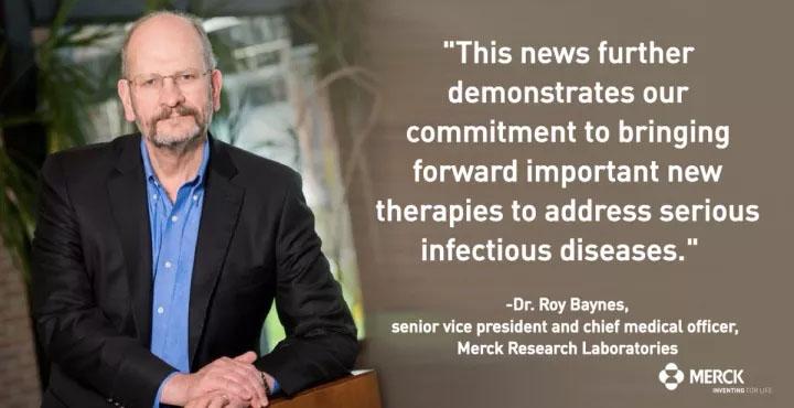 第一个15年! 默克东抗感染新药今天获得批准